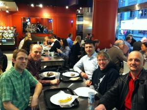 Oracle DB Lunch Downtown
